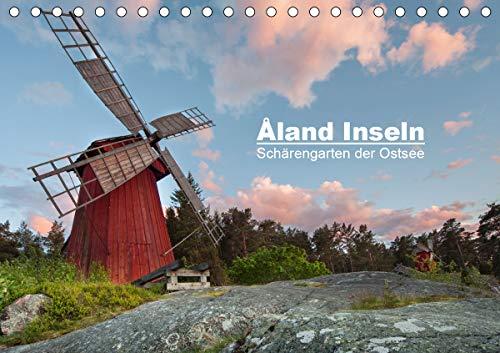 Åland Inseln: Schärengarten der Ostsee (Tischkalender 2021 DIN A5 quer)