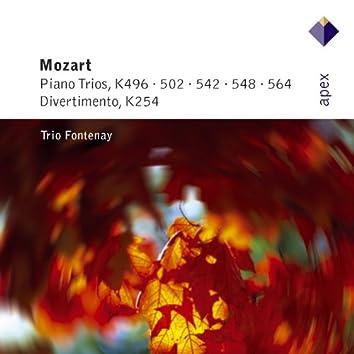 Mozart : Piano Trios & Divertimento  -  Apex