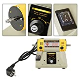 Pangding Máquina pulidora, Amoladora eléctrica, pulidora, acabadora, Instrumento para joyería, Torno Dental, Motor 220V 350W