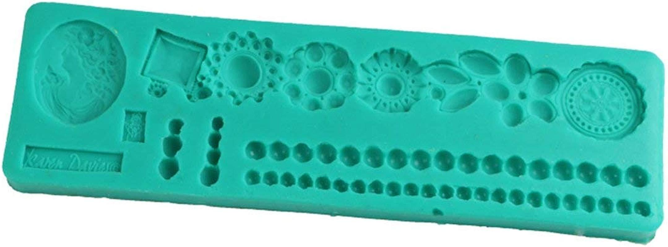 Colorsworld Necklace Chain Cake Fondant Baking Tool Silicone Cake Mould Cake Fondant Mold