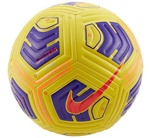 Nike Pallone da calcio Academy Team IMS Ball, giallo / viola / BRIGHT CRIMSON, CU8047-720, 5