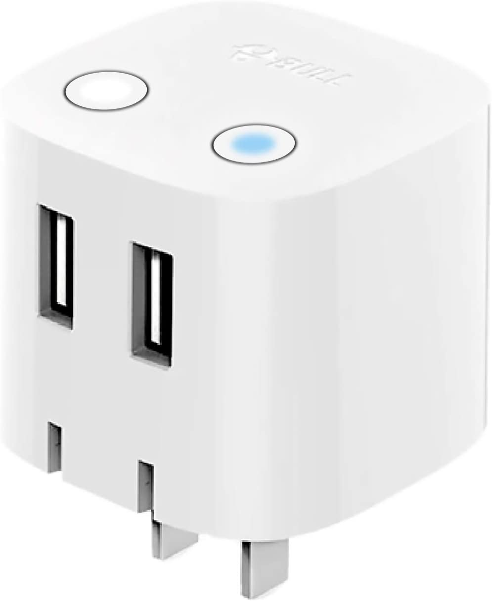 USB Charger Block BULL Ranking TOP2 Dual 2.4A Wall in Plug Fashionable