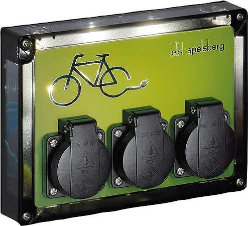 SPELSBERG TG BCS 3 LED - Estación de carga para bicicleta (TG BCS 3 LED)