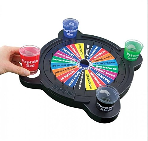 Wheel of Mis-Fortune - Drinking Board Game