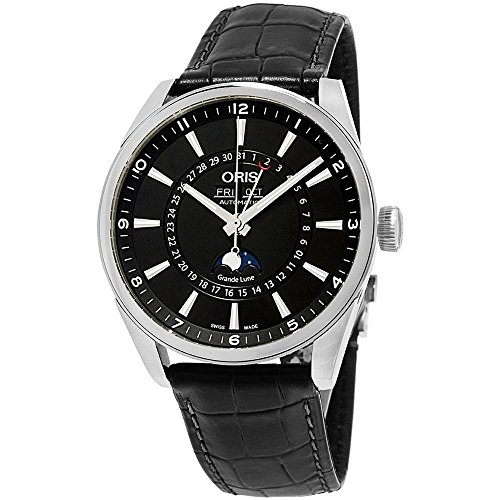 Oris Artix Complication Moonphase Automatic Steel Mens Watch Calendar...