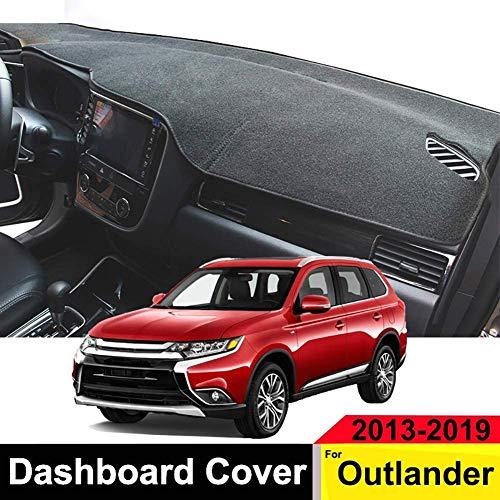 ZQTG Anti-uv Auto armaturenbrett Abdeckung Dash mat pad instrumententafel Carpet zubehör für Mitsubishi Outlander 2013 2014 2015 2016 2017 2018 2019