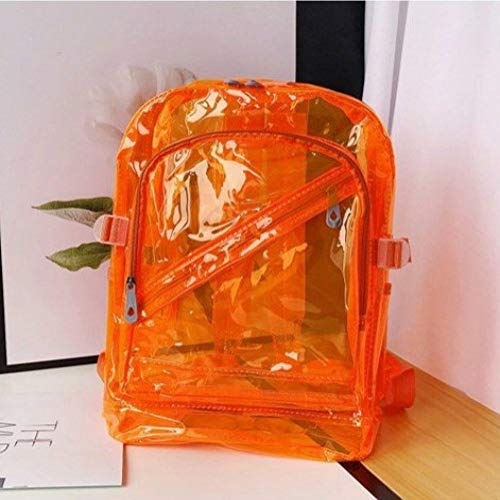 YUIOP Rucksack Männer Und Frauen Paar Modelle Transparente Umhängetasche Rucksack Schultasche Strandtasche