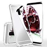 MoEx Mirrored Silicone Case compatible with Samsung Galaxy