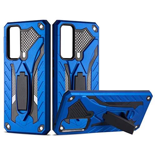 GOGME Estuche para Vivo Y70 (2020) Funda, Ultrafino Resistente y Duradero Funda Rígida a Prueba de Golpes Funda Protectora para Teléfono, Estuche Rígido para PC de Doble Capa, Azul