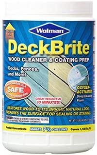 Rust-Oleum 16003 3-Pound Jar Wolman Deckbrite Wood Cleaner and Coating Prep, Original