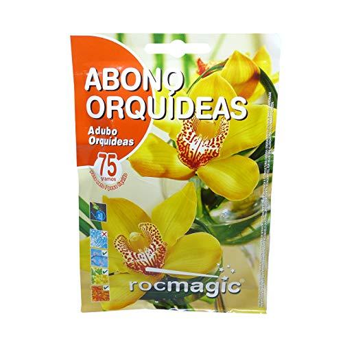 prademir Orchideen Dünger mit Extra Magnesium 75gr ca. 50 L Pflanzendünger flüssig Zimmerpflanzen Blumendünger Garten Pflanzen Orchidee Töpfe