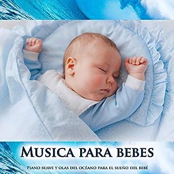 Musica para bebes:Piano suave y olas del océano para el sueño del bebé