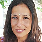 coachella bindi set - face gems stick - bindi dots - gioielli per il viso