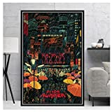 KONGQTE Poster Prints Blade Runner 2049 Movie Film Gift Modern Comic Painting Canvas Art Wall Pictures Living Room Home Decor-20Inx30Inx1 No Frame