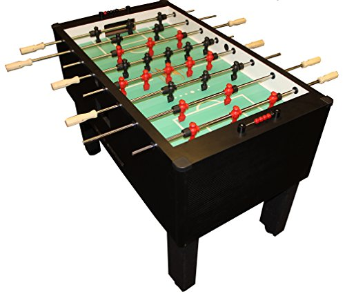 Best Price Gold Standard Games Home Pro Foosball Table (Carbon Fiber Wrap (Chrome Rods-Wood Handles)...