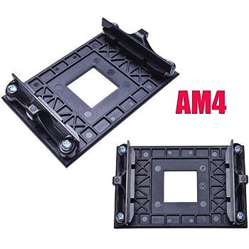 Amazon Com Am4 Mounting Bracket Cpu Socket Mount Cool Fan Heatsink Bracket Dock Base For Amd Am4 B350 X370 A320 X470 1 Pack Computers Accessories