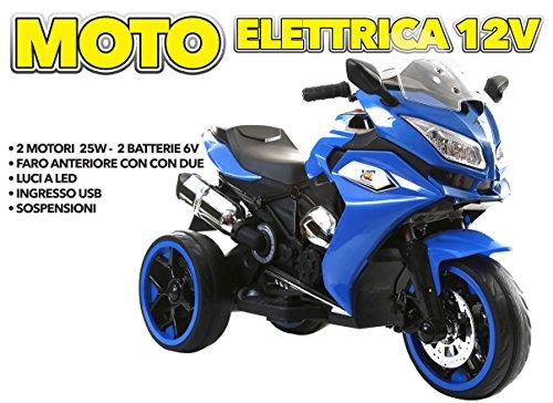 MOTO ELETTRICA 12V BLU - GV-5289