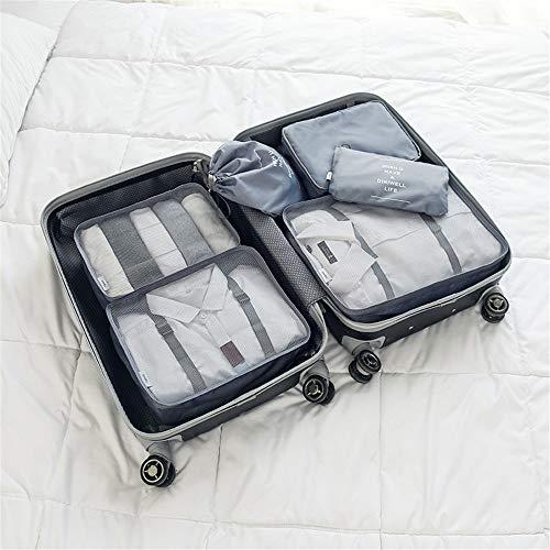 Bajo la cama de almacenamiento Conjunto de 6pcs duraderos Consejos de Viaje...