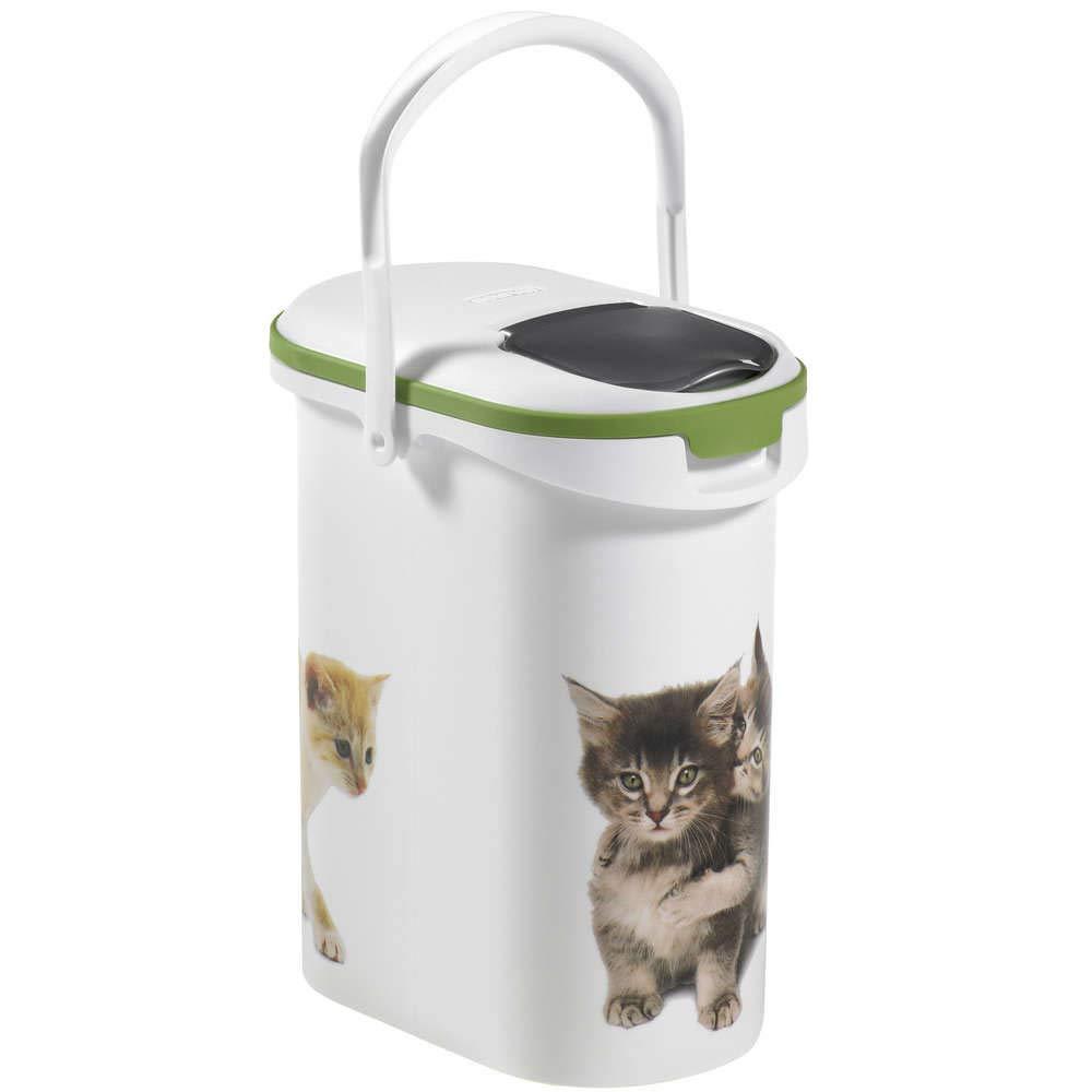Curver Contenedor Alimentos 4 Kg Gatos: Amazon.es: Productos para mascotas