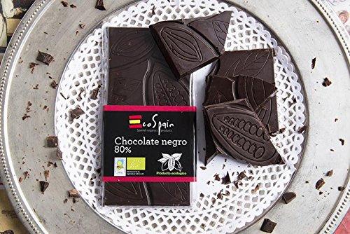 Chocolate negro 80% , Artesano y Ecológico Natural. Cacao Criollo Especial. Bio Orgánico, Categoría Gourmet Premium. Utilizado en Postres, Fundir, Repostería Bombones y Cobertura. Tableta 95 gr