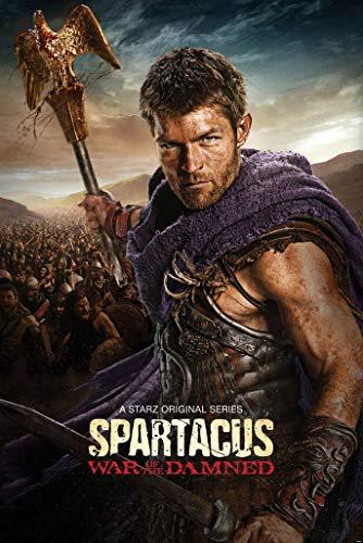 LONGLONG Spartacus US Drama 60cm x 90cm 24inch x 36inch Silk Print Poster 003- Fabric Cloth Wall Decor Home Decor