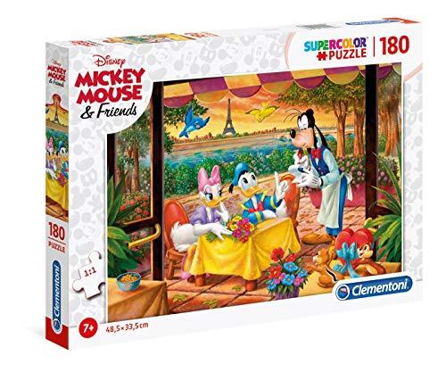 Disney Classic Puzzle Suelo, 180 Piezas, Multicolor, 180pezzi (29296)
