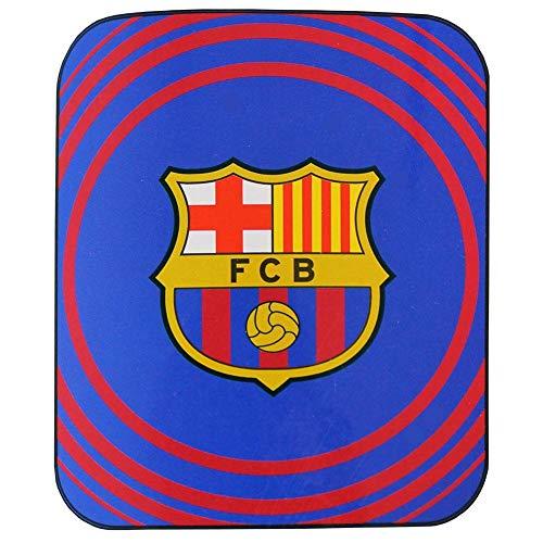 FCB FC Barcelona - Manta Polar (Talla Única/Azul/Rojo)