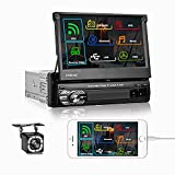 Best Apple Stereo For Car With Backup Camera - Camecho 7 Inch Car Stereo Single Din Touch Review