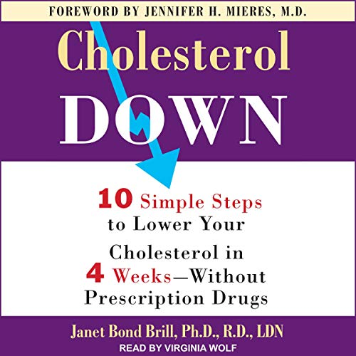 Cholesterol Down audiobook cover art