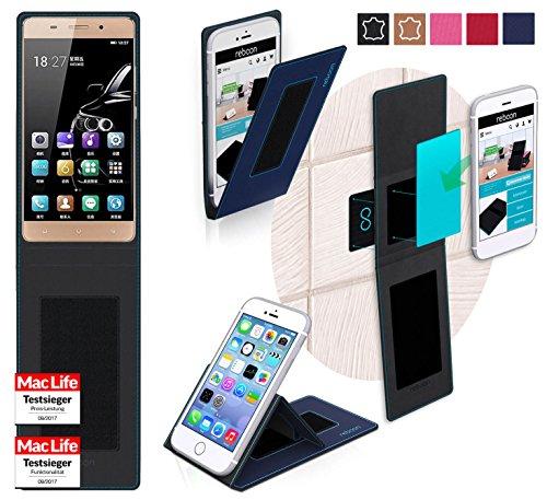 reboon Hülle für Gionee Marathon M5 Lite Tasche Cover Case Bumper | Blau | Testsieger