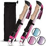 High Stream Gear Walking Sticks for Women 2 Lightweight Foldable Hiking & Trekking