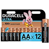 <span class='highlight'><span class='highlight'>Duracell</span></span> Ultra AA Alkaline Batteries [Pack of 12], 1.5 V LR06 MX1500
