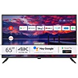 INFINITON INTV-65AF2300 – Televisor Smart TV 65' 4K UHD – Android 9.0 – Google Assistant – HBBTV – 4X HDMI – 3X USB - DVB-T2/C/S2 - Modo Hotel – Clase A+