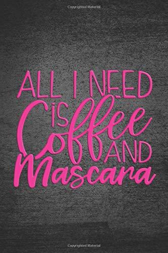 bon comparatif Tout ce dont j'ai besoin, c'est du café et un masque: notes / agenda pour les maquilleurs et les passionnés un avis de 2021