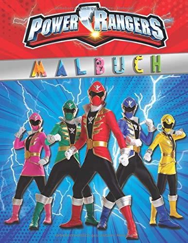 Power Rangers Malbuch: Besondere Malseiten mit Ihren Lieblings - Power Rangers