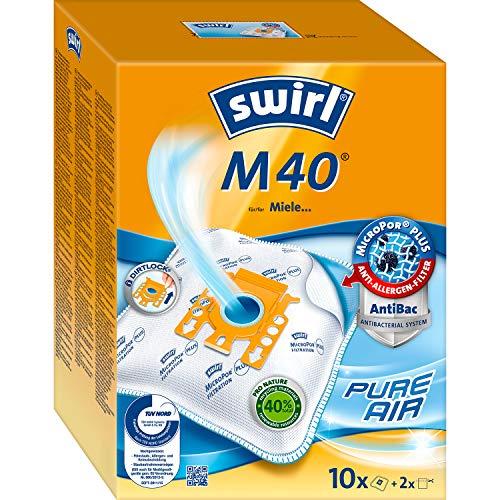 4 Staubsaugerbeutel Swirl geeignet für Miele S 714