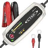 CTEK MXS 5.0  Chargeur de Batterie Entièrement Automatique (Charge, Maintient et Reconditionne les Batteries Auto et Moto) 12V, 5 Amp – Prise EU