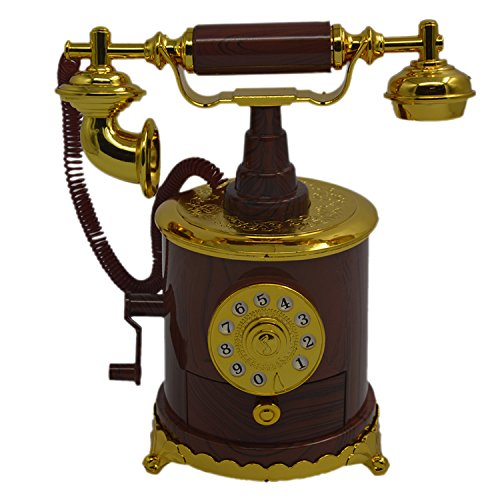 Telefon Hand Kurbel antike Spieluhr personalisierte Geschenke Startseite Dekorationsgegenstände...