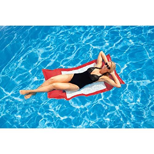 Floating Luxuries Logo RED Kai Water Hammock