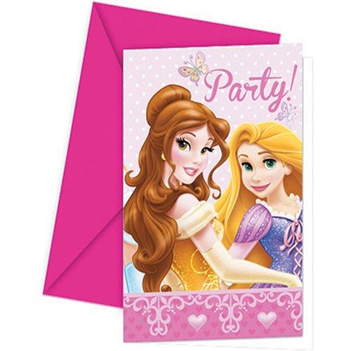 amscan Invitation Anniversaire - Princesse