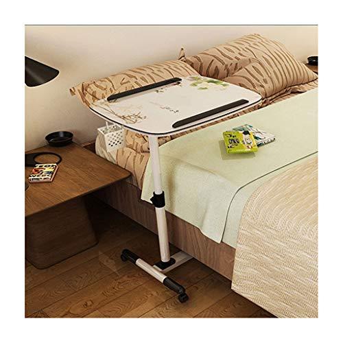 ELYSYSRL Salontafel, nachtkastje, laptoptafel, met beweegbaar, opvouwbaar, in hoogte verstelbaar, draaibaar, consoletafel, bijzettafel, multifunctionele woonkamertafel 23.62X15.75Zoll 9