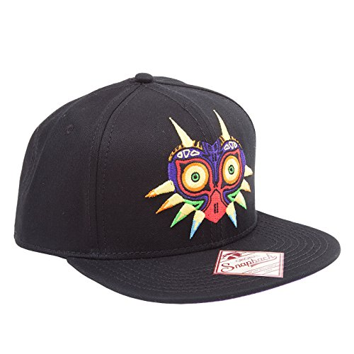 Zelda Cap Majora's Mask Baseball Cap kompatibel mit Nintendo Schirmmütze Flat Bill Snapback Kappe
