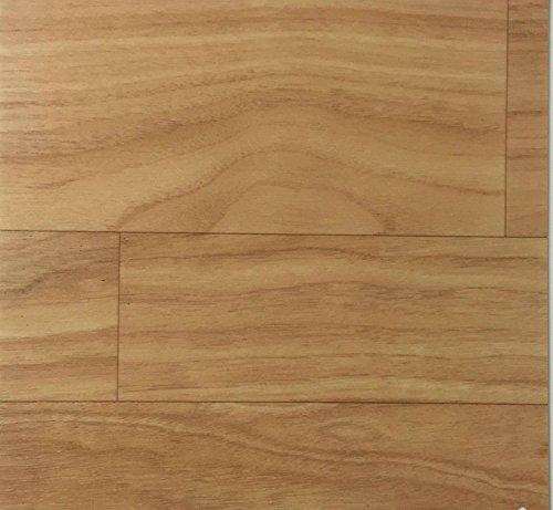 PVC Vinyl-Bodenbelag | Muster | in Walnuss-Planken-Optik | CV PVC-Belag in verschiedenen Maßen verfügbar | CV-Boden wird in benötigter Größe als Meterware geliefert