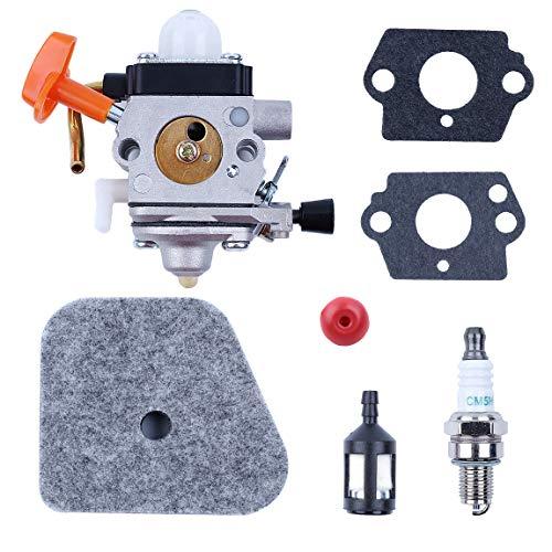 Haishine Vergaser Luftfilter Service Kit für STIHL FS87 FS90 R FS100 FS110 FS130 R FC 90 95 100 HL100 KM90 KM100 Strimmer Teile