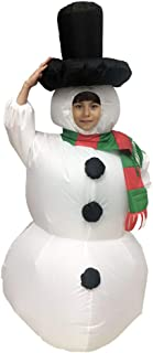 inflatable frosty the snowman costume
