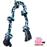 92 cm Juguetes de Cuerda para Perros Grande Resistente Juguetes para Morder para...