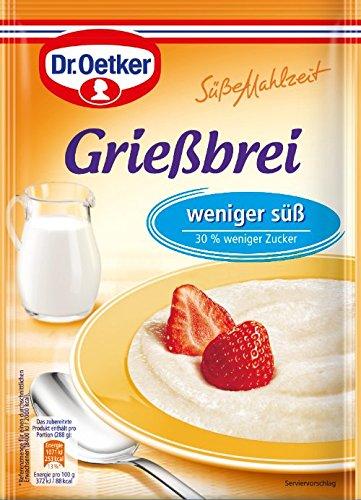 Dr. Oetker Grießbrei weniger süß, 76 g