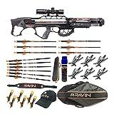 Ravin Crossbows R29X 450 FPS Crossbow (Predator Camo) Hunting Bundle (11 Items)