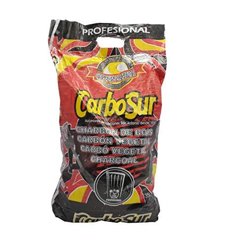 Carbón para Barbacoa Vegetal Especial Barbacoas 1 Bolsas de 4,8KG, carbón extra...