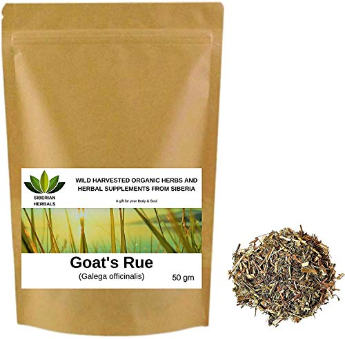 Goat's rue (Galega officinalis) Wild Harvested Organic ГАЛЕГА from Altai Mountains, Siberia, Russia. (50 gm)